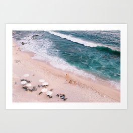 Carefree Summer Art Print