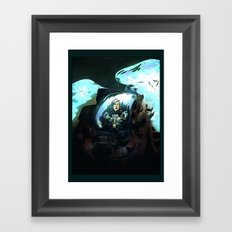 Search for Leviathan Framed Art Print