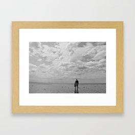 Me & my girl Framed Art Print