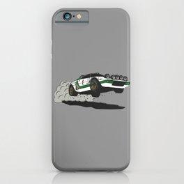 Stratos Rallycar iPhone Case