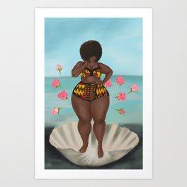 Black Venus Art Print