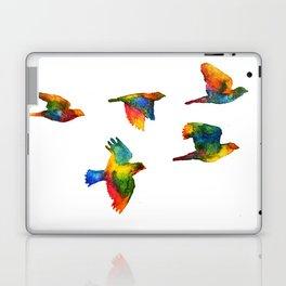 Rainbow Flight Laptop & iPad Skin