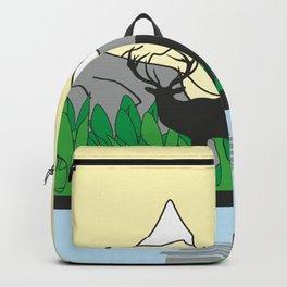 Mountain Deer #society6 #decor #buyart #artprint Backpack