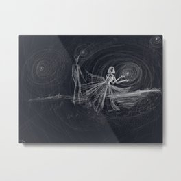 dark love Metal Print
