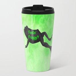Feelin' Froggy Travel Mug