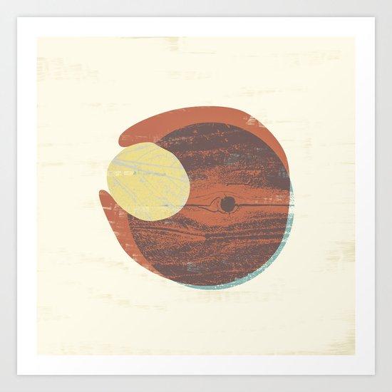Fluid VII Art Print