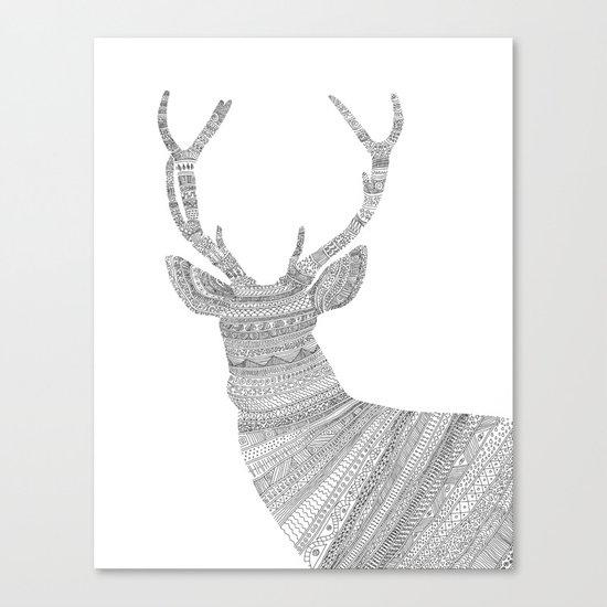 Stag / Deer Canvas Print