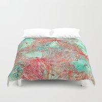 butterfly Duvet Covers featuring Butterfly Pattern by Klara Acel