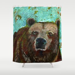 The Bear Guide Shower Curtain