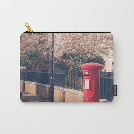 Red Postbox In Spring Carry-All Pouch