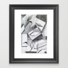 Shaded Shapes 2 Framed Art Print