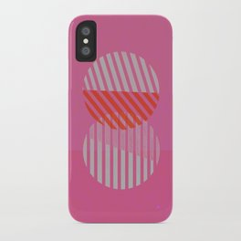 Two Circles iPhone Case