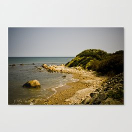 Orange Coast Canvas Print