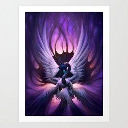 """Night Rise"" Art Print"