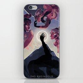 Das Rheingold iPhone Skin