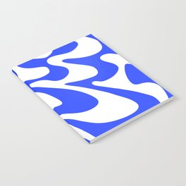 Swirly Whirly: Abstract Pop Art Painting by Bruce Gray Notebook