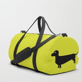 Angry Animals: Dachshund Duffle Bag