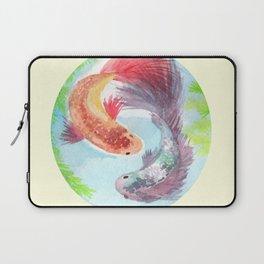Fish on my mind Laptop Sleeve