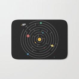 Planetary Maze Bath Mat