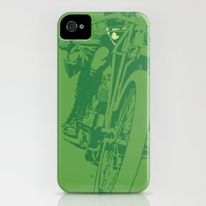 Motorcycle Board Track Racer 2 iPhone (4, 4s) Slim Case