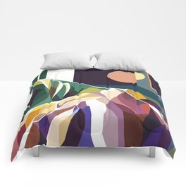 At Mont-Rebei Comforters