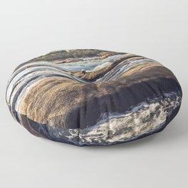 James River Richmond VA Floor Pillow