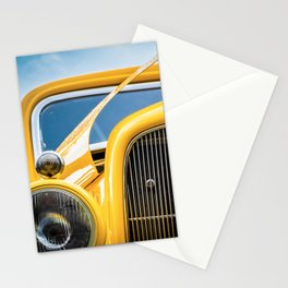 Yellow Truck Stationery Cards