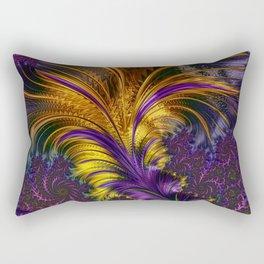 Fractal feather Rectangular Pillow