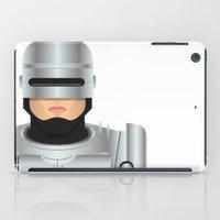 robocop iPad Cases featuring Robocop by Capitoni