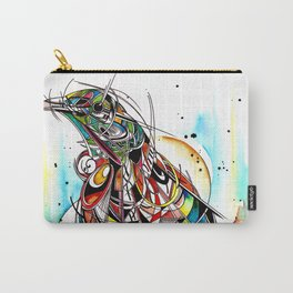 Geometric Tui Carry-All Pouch