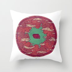 Away from Everyone Throw Pillow