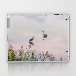 The Lake at Dusk Laptop & iPad Skin