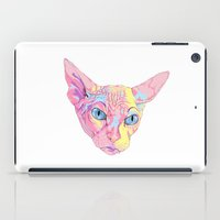 sphynx iPad Cases featuring sphynx by eeve.st
