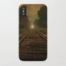 Ghost Train iPhone X Slim Case