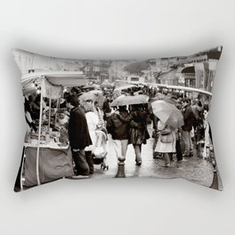 La Vie Parissiene Rectangular Pillow