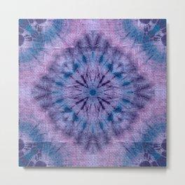 Purple Tie Dye Metal Print
