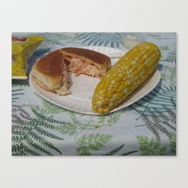 """Watermans:  Maine's Best Lobster Roll"" Canvas Print"