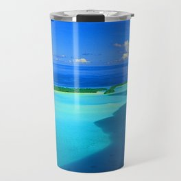 French Polynesia Tahiti Tropical Turquoise Waters Paradise Travel Mug