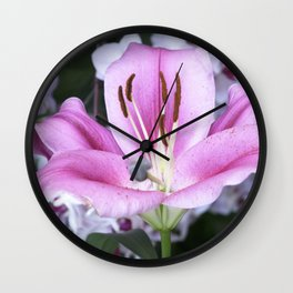 Longwood Gardens Orchid Extravaganza 5 Wall Clock