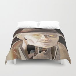 The Synth Detective Duvet Cover