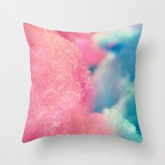 CottonCandy Throw Pillow