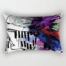 head splash Rectangular Pillow