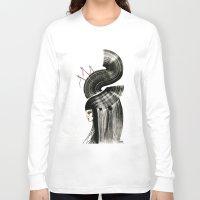 arrows Long Sleeve T-shirts featuring arrows by Kraken Khan