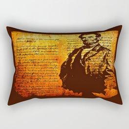 Abraham Lincoln Rectangular Pillow