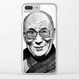 Dalai Lama Clear iPhone Case