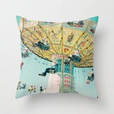 Love A Fair . . . swings Throw Pillow