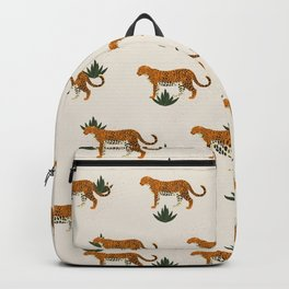 Big Cat Pattern Backpack