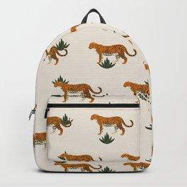 Big Cat Pattern Backpack