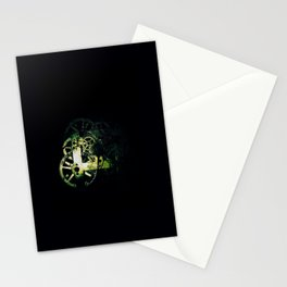 Clock Gears  Stationery Cards