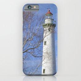 New Presque Isle Lighthouse iPhone Case